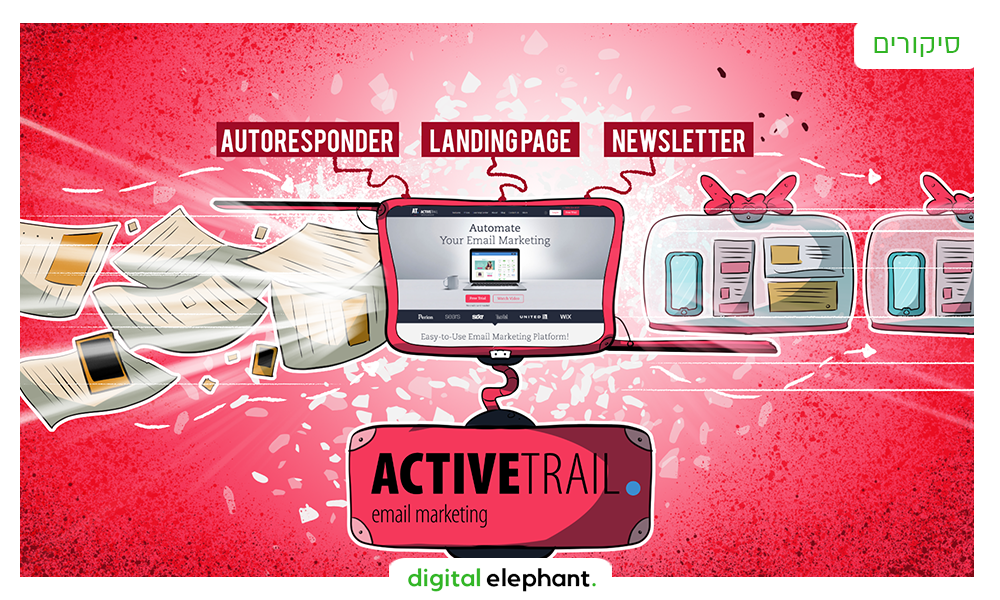 סיקור מוצר: שיווק באי-מייל עם אקטיב טרייל ActiveTrail