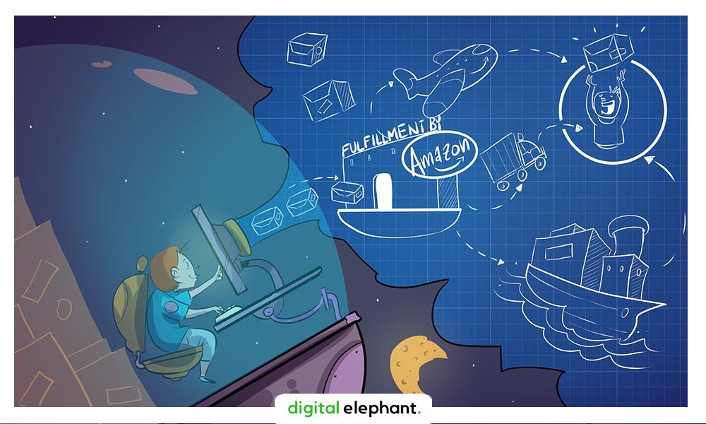 מסע ה-Fulfillment by Amazon: איך למכור באמזון
